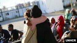 Kamp penampungan pengungsi UNHCR di Tripoli, Libya. (UNHCR/Mohamed Alalem)