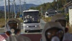 نخستين ديدار نمايندگان رسانه های عمومی از نيروگاه اتمی زلزله زده ژاپن