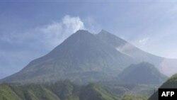 İndoneziyada vulkan püskürüb