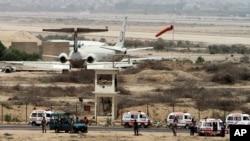 Bezbednosne snage na aerodromu u Karačiju