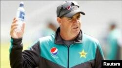 فائل: پاکستان کرکٹ ٹیم کے ہیڈ کوچ مکی آرتھر