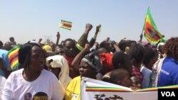 Zanu PF supporters