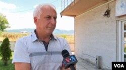 Nenad Radosavljević, koordinator Saveza za Kosovo i Metohiju iz Leposavića (Foto: VOA)