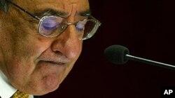 6일 인도 뉴델리의 국방분석연구소에서 연설한 파네타 미 국방장관.
