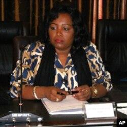Rosa Pacavira, secretária para os Assuntos Sociais da presidência de Angola