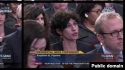 در آخرین نشست خبری سال ۲۰۱۴ باراک اوباما رئیس جمهوری آمریکا، تنها خبرنگاران زن بودند که پرسشهای خود را مطرح کردند