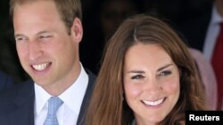 英国威廉王子和凯瑟琳王妃