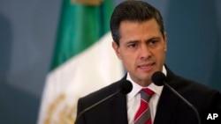 El presidente de México, Enrique Peña Nieto, propuso este lunes una reforma del sistema energético mexicano.