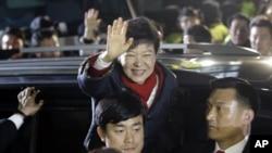 Bà Park thắng cử tại Nam Triều Tiên