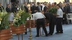 Ultimo adiós a las víctimas de Lorca