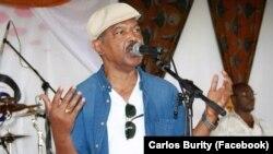 Carlos Burity, músico angolano