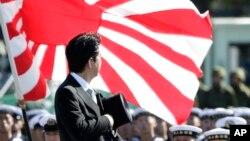 日本首相安倍晋三(资料照片)
