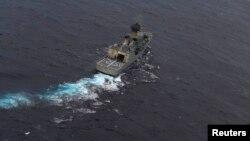 호주 해군 함정. (자료사진)