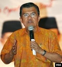 Mantan Wakil Presiden Indonesia, Jusuf Kalla, yang juga ditetapkan sebagai Duta Pulau Komodo (foto: dok).