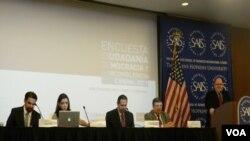 Se llevó a cabo una sesión de comentarios de la encuesta en donde los panelistas expusieron sus principales preocupaciones.