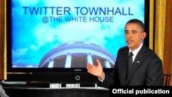 Obamanın twitter hesabı