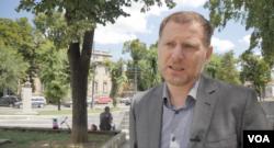 Dragiša Mijačić, koordinator Nacionalnog konventa o EU za Poglavlje 35 (Foto: VOA/Rade Ranković)