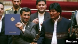 Los presidentes de Irán y Bolivia tienen una estrecha relación, que ahora trata de resaltar el viceministro iraní, que visita La Paz.