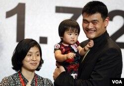 Yao Ming sa obitelji