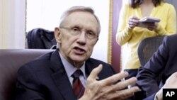 Harry Reid, Ketua Fraksi Demokrat di Senat Amerika (Foto: dok).