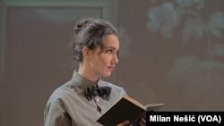 Bila je neobično jaka žena i baš kao i Albert imala intenzivnu strast za nauku: Sesilija Aursvald