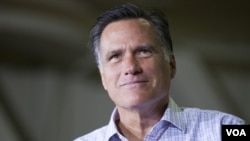 Candidato Republicano Mitt Romney