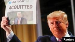 Президент США Дональд Трамп прибыл на Национальный молитвенный завтрак. Вашингтон, США. 6 февраля 2020 г.