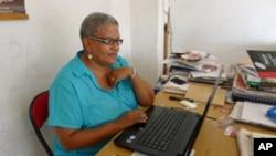 Eva Weitz,a coordenadora regional da WIMSA