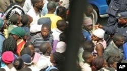 Manifestação na cidade do Namibe (Foto de Arquivo)
