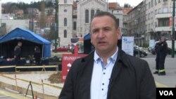 Fahrudin Solak, suspendovani direktor Federalne uprave civilne zaštite