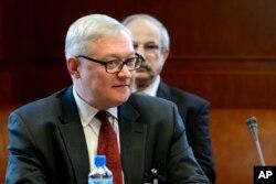 Rossiya Tashqi ishlar vaziri muovini Sergey Ryabkov
