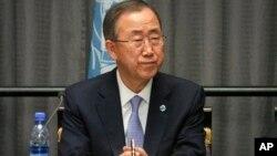 Sekjen Ban Ki-moon memperingatkan bahwa karantina petugas medis adalah langkah diskriminatif (foto: dok).