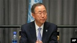 Tổng thư ký Liên hiệp quốc Ban Ki-moon nói tại cuộc họp báo ở Ethiopian rằng các nhân viên y tế tham gia việc điều trị Ebola là 'những người phi thường' và nên chấm dứt sự kỳ thị đối với họ, 27/10/14