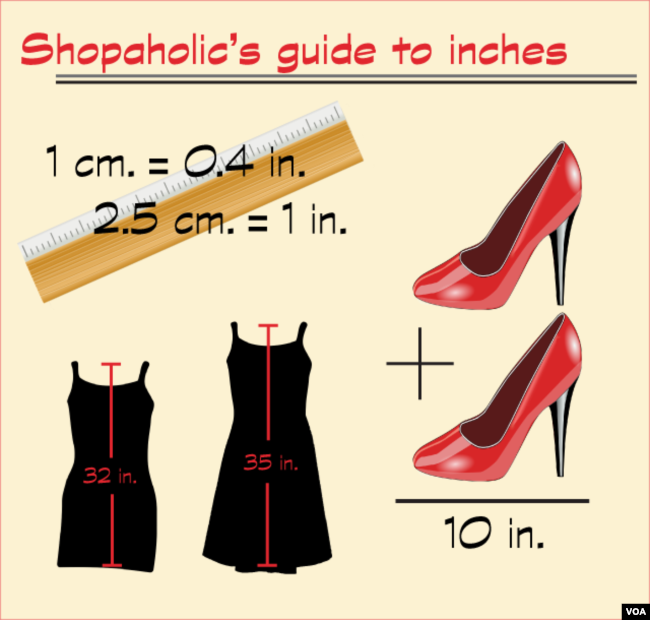 Shopaholics guide to us measures 10 inches 2 high heels shopaholic altavistaventures Image collections