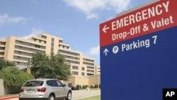 Prezbiterijanska bolnica u Dalasu, Teksasu, gde se leči pacijent zaražen ebolom.