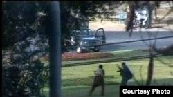 سری لنکا کرکٹ ٹیم کی بم پر حملہ کرنے والے گروپ کے دو دہشت گرد۔ سن 2009، فائل فوٹو