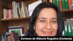 Gláucia Nogueira, jornalista-antropóloga e investigadora brasileira