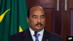 Le président mauritanien Mohamed Ould Abdel