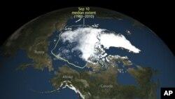 Trong lúc thế giới vẫn tiếp tục nóng lên, WMO lưu ý Bắc Cực đang ấm dần, nhanh hơn mức trung bình của thế giới ít nhất là gấp đôi.