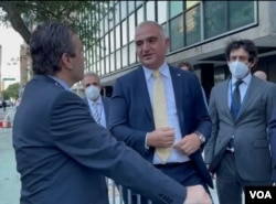 Mehmet Nuri Ersoy, Amerika'nın Sesi muhabiri Mehmet Sümer'in sorularını yanıtladı.