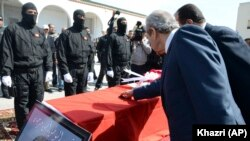 Funerales de un tunecino muerto en el ataque al Museo del Bardo.