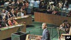 奥巴马总统在联合国大会发表讲话