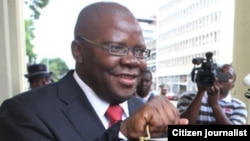 Former Finance Minister and PDP leader Tendai Biti.