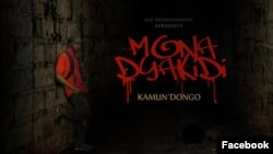 Capa de CD de artista angolano, Mona Dya Kidi