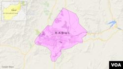 喀布尔的地理位置