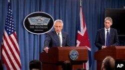 哈格爾星期四在一次國防部新聞發布會
