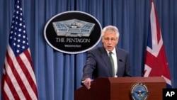 Bộ trưởng Quốc phòng Hoa Kỳ, ông Chuck Hagel.