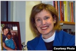Lucinda Laird is dean and rector at the American Cathedral in Paris. (Courtesy photo)
