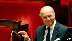 Laurent Fabius, Ministan Harkokin Wajen Faransa