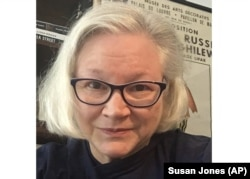 This May 1, 2020 photo shows Susan Jones in New York.